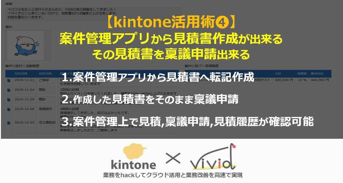 kintoneで案件管理から見積書を作ってみた